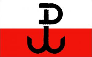 Kotwica, het symbool van het Poolse verzet