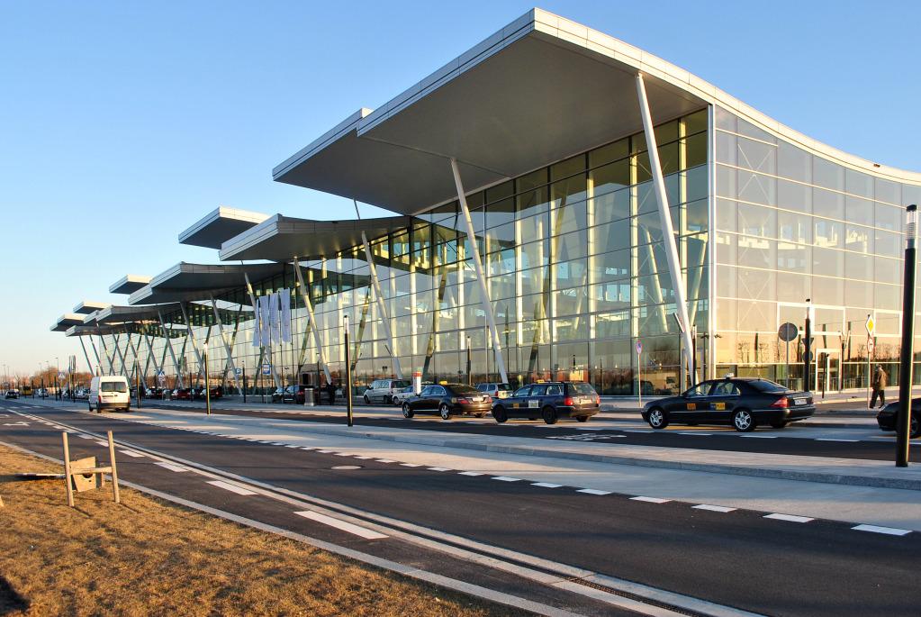 Terminal T2 in Wrocław