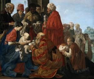 Hendrick ter Brugghen: De aanbidding der koningen, 1619. Rijksmuseum Amsterdam