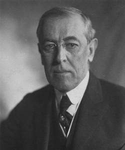Pres. Woodrow_Wilson 1919