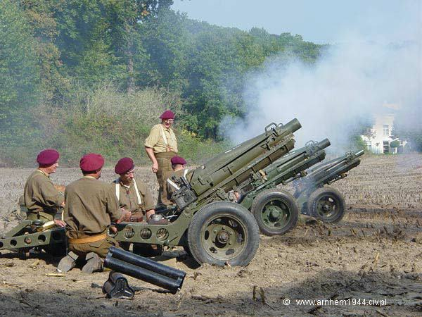 Artillerie in actie