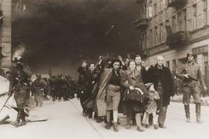 Joodse families worden verdreven
