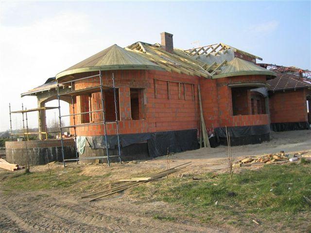 De dakconstructie het bouwen van het dak - Kantoor onder het dak ...