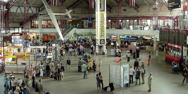 luchthaven Warschau
