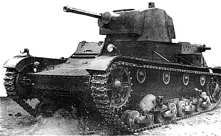 Polish 7TP light tank